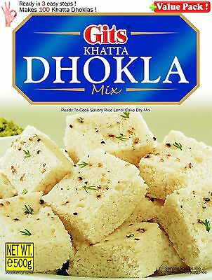 Gits Khatta Dhokla Mix 500gm ready to cook