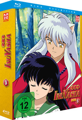 InuYasha - TV Serie - Box 5 - Episoden 105-138 - Blu-Ray - NEU