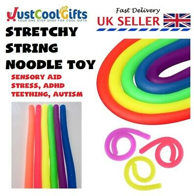 Stretchy Fidget String Tangle Toy Relax Anxiety Stress Adhd Sensory Aid Uk