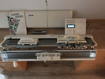 Strickmaschine Brother KH 970 mit Doppelbett Brother KR 850
