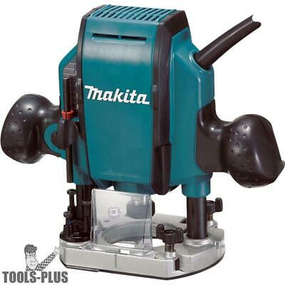 Makita RP0900K Plunge Router 27,000 RPM 1-1/4 HP New