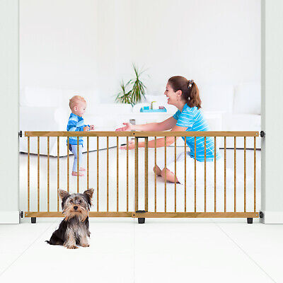 Perma Child Safety Timber Barrier 110 - 200cm Wide/65cm Tall Pressure Mounted