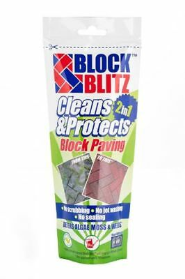 Block Blitz Block Paving Treatment New Path Patio Cleans Protects Non Toxic