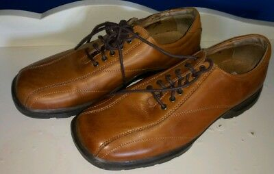 1eb4eacb0bd Steve Madden Shoes Tan Brown Leather Casual Lace Up Men s Size 9 Crown