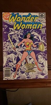 DC WONDER WOMAN Comic Book 253 1979