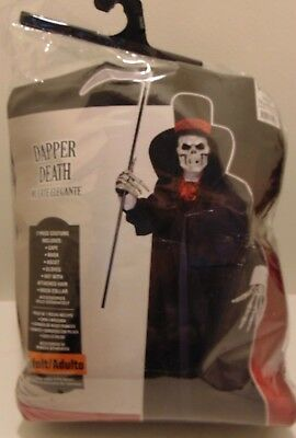 "Halloween costume ""Dapper Death"" Adult Size - One size Fits Most!!!"