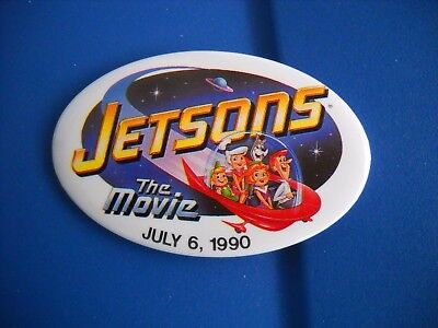 Vintage Jetsons The Movie pin from July 6, 1990 Universal City Studios