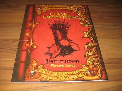 Pathfinder Curse of the Crimson Throne Player's Guide Sourcebook Paizo 2008