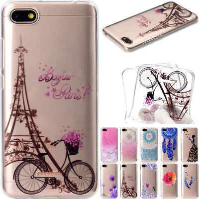 Patterned Ultra Thin Rubber Silicone TPU Case Cover For Huawei Samsung iPhone