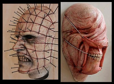 Hellraiser Pinhead & Chatterer Rare Display Prop Created By Movie Fx Artist