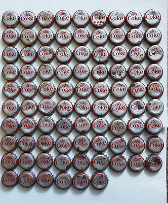 (87) 1964-65 Coca Cola New York World's Fair Coke Bottle Caps with cork insides