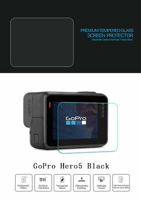 Ultra Clear Tempered Glass Screen Protector Lens Cap Cover  For GoPro Hero 6 5