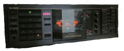 One and only Special NAKAMICHI RX-505 3 head Auto Reverse Cassette Deck 120-240V