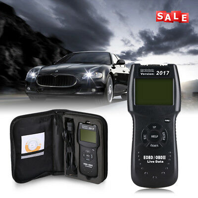 Universal Auto Car CAN OBDII EOBD Code Reader Scanner Data Fault Diagnostic Tool