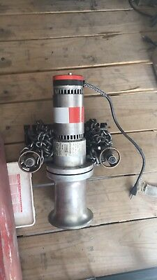 AB Chance Capstan winch with mount attachment & foot pedal .