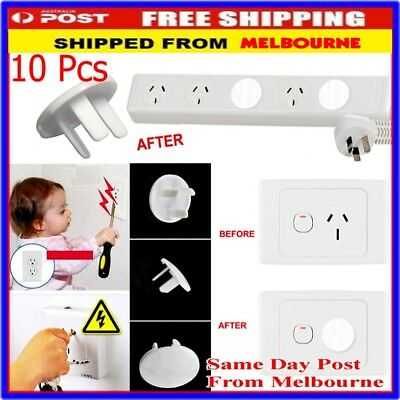 Power Board Socket Outlet Point Plug Protective Covers Baby Child Safety