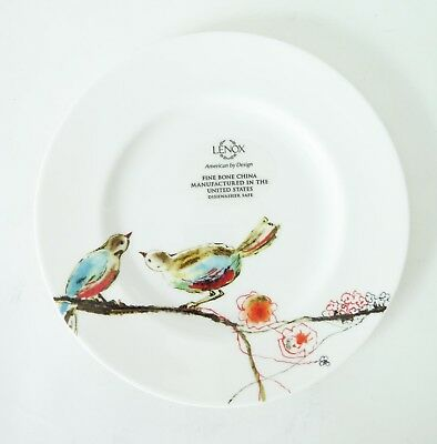 Lenox Chirp Simply Fine 9 Inch Salad or Luncheon Plate Bone China