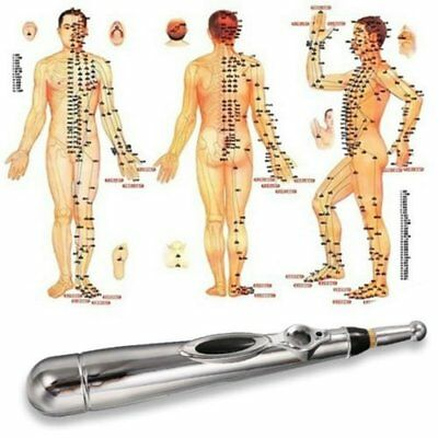 Electric Acupuncture Point Body Head Massage lectronic Meridian Energy Pen BN