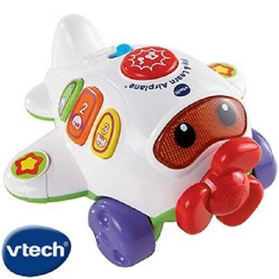 Childrens VTech Nursery Musical Light Sounds Play & Learn Baby Aeroplane Toy