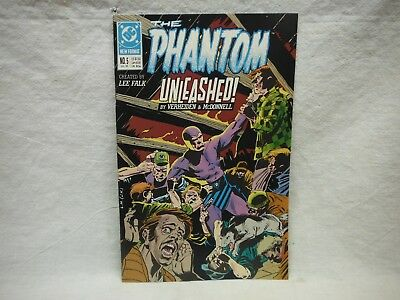 Phantom Unleashed #5 Jul. 1989 Comic Book