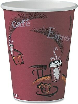 New SOLO Cup Company Bistro Design 12 oz Hot Drink Cups, 300-count WM