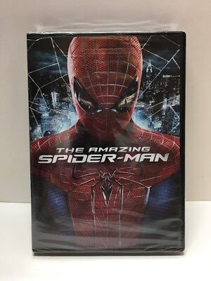 The Amazing Spider-Man Spiderman DVD Factory Sealed