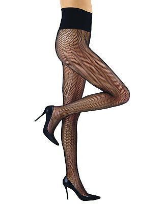2cc008b0a63ee COMMANDO HERRINGBONE NET Tights ($40) w/tax (Small) Black - $30.00 |  PicClick