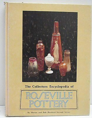 Collectors Encyclopedia of Roseville Pottery by Sharon & Bob Husford 2nd Series