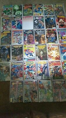 Huge Comic Book Lot Number 1 Issues Batman Marvel Vs Dc Star Wars Spiderman