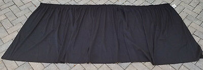 AV Cart Skirt - Black Skirting - Select Sizes