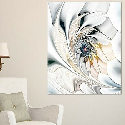 Large Contemporary Wall Art Abstract Modern Stained Glass Metal Art Glossy Print