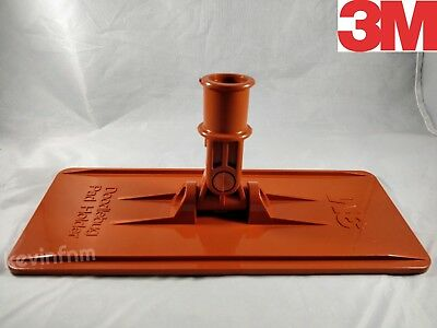 "*NEW* Genuine 3M™ Orange Doodlebug™ Pad Holder 6472 9"" x 3.75"" *FAST SHIPPING*"