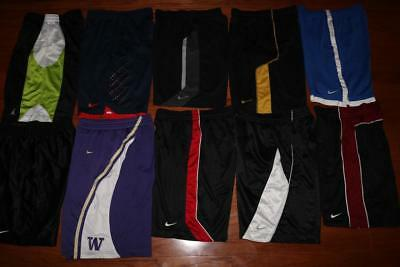 Lot Of 10 Nike Adult Mens Basketball Shorts Athletic Air Jordan Mizzou Medium