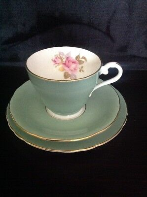 Vintage Aynsley Tea Cup Trio Bone China Made In England