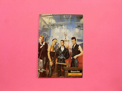 Depeche Mode Official1990 Vintage Postcard Not Cd Patch Pin Lp Poster Uk Import