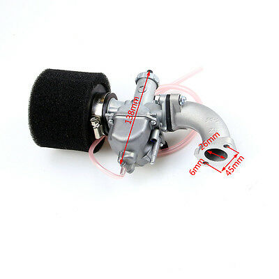 Mikuni Carburetor 26mm VM22 +38mm Air Filter Intake 110 125 140 cc Pit Dirt Bike