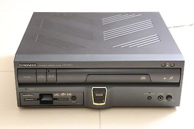 Pioneer LaserActive CLD A-100 LD,CD Player Console with PC Engine NEC Pac N-1
