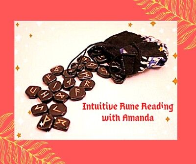 Intuitive Rune Reading, One Question - Guidance via email