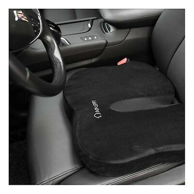 Coccyx Seat Cushion Memory Foam Tailbone Sciatica Lower Back Support,Pain Rel...