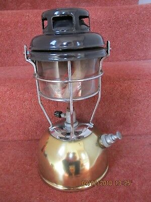 Tilly Lamp with polished brass base  - decretive / spares / repairs