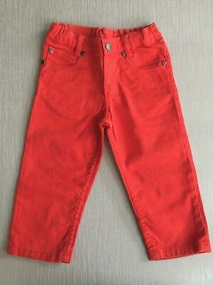 Paul Smith Baby Boys Red Jeans Age 18 Mths