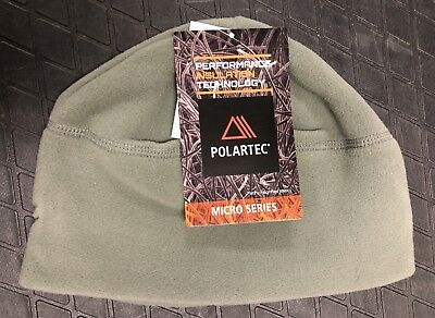 fe0d84b75f5 US MILITARY POLARTEC MICROFLEECE WATCHCAP - Foliage Green Fleece Watch Cap  NEW