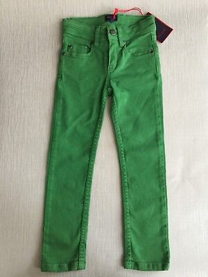 Paul Smith Boys Green Drain Fit / Skinny Jeans Age 4 Years Bnwt