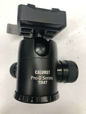 Calumet PRO-D series 7047 Tripod Ball Head With Quick Release Plate *BRAND NEW*