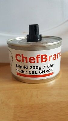 6 Liquid Chafing dish fuel for sale (6 hours burning time).  NON-FLAMMABLE!!!!!