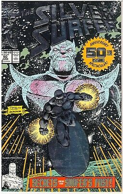 Silver Surfer #50 (Jun 1991, Marvel) (3th Print) bagged/boarded never read