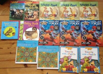 bundle of 14 picture books for children (some duplicates)