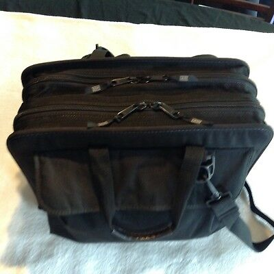 PLATT Black Nylon Telecom Technician Tool Case Made In U.S.A.