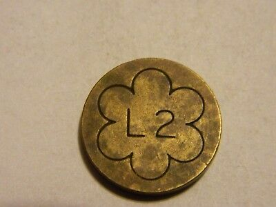 Antique Apothecary Weight L2 in Flower? Unique Piece 18mm - Lot #2883