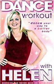 Dance Workout With Helen Adams (DVD, 2004) + free Natalie Cassidy Then and Now